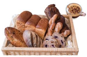 国産小麦粉使用のパン